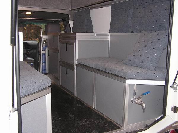Odyssey Camper Conversion